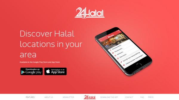 اپلیکیشن 24halal