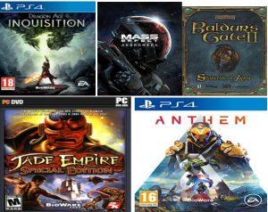 تصویر5: نمایی از بازیهای تولیدشده توسط شرکت بیوور